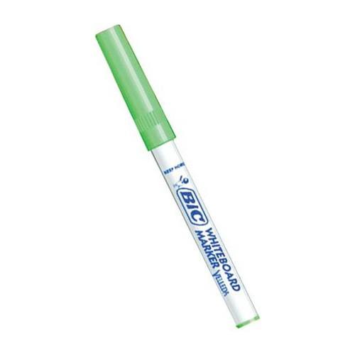 Rotulador para Pizarra Blanca Bic Velleda Medium Verde