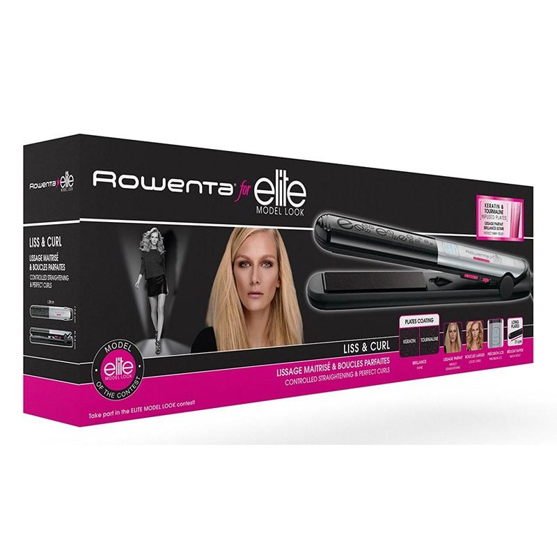 Plancha de Pelo Rowenta Liss & Curl SF4522E0