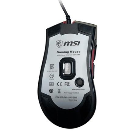 Ratón Óptico USB MSI M92 4000 DPI