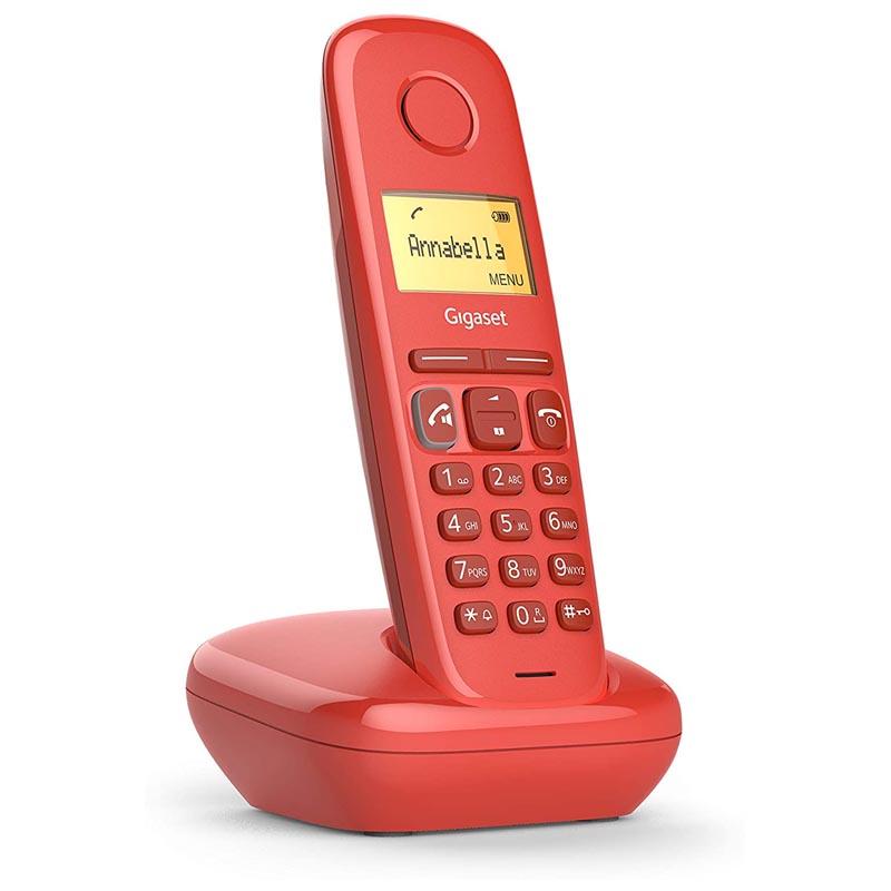 Teléfono Fijo Inalámbrico Gigaset A270 Rojo