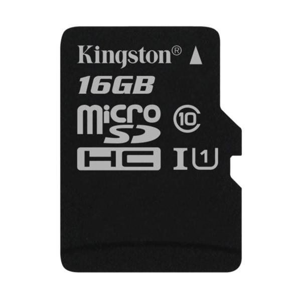 Tarjeta MicroSDHC 16GB Clase 10 UHS-I Kingston SDC10G2/16GBSP