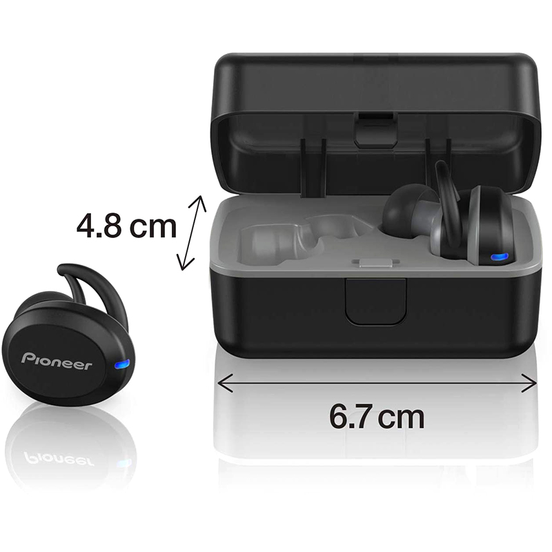 Auriculares Inalámbricos Sin Cable In-Ear Pioneer SE-E8TW-H Negros
