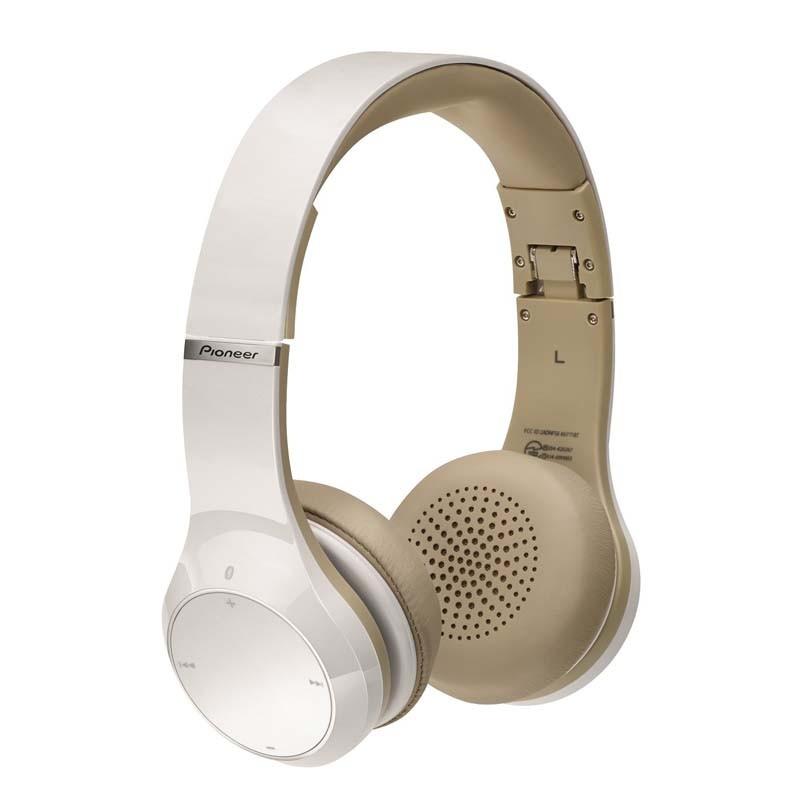 Auriculares Bluetooth y NFC Pioneer SE-MJ771BT Blanco