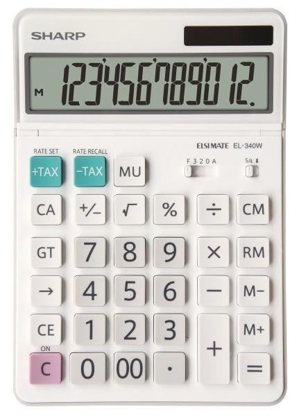 Calculadora de Bolsillo Sharp SH-EL340W - 12 Dígitos