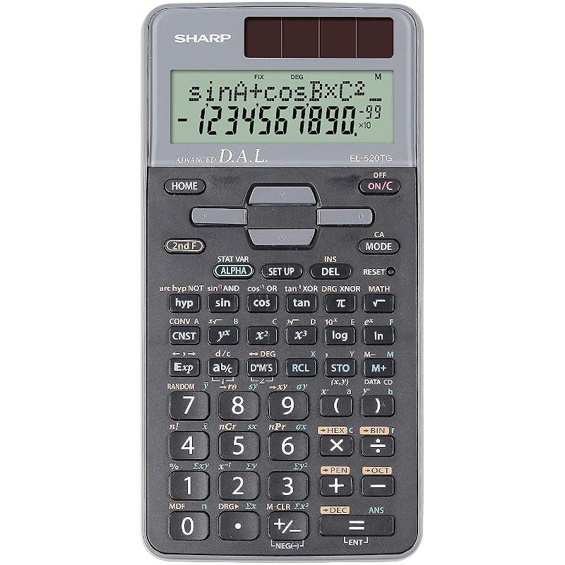 Calculadora Científica SharpSH-EL520TGGY - 10 Dígitos