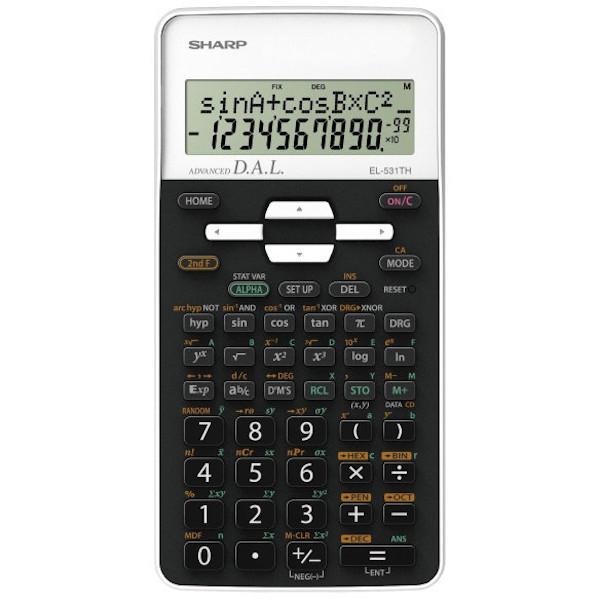 Calculadora Científica Sharp SH-EL531THWH - 10 Dígitos Blanco
