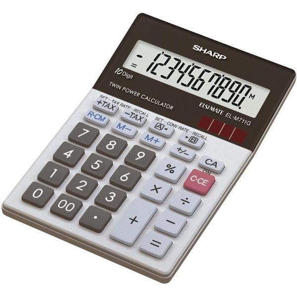 Calculadora de Sobremesa Sharp SH-ELM771GGY - 10 Dígitos