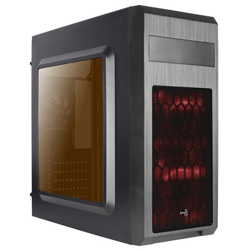 Caja PC ATX Aerocool SI-5101 Advance Con Ventana Negro