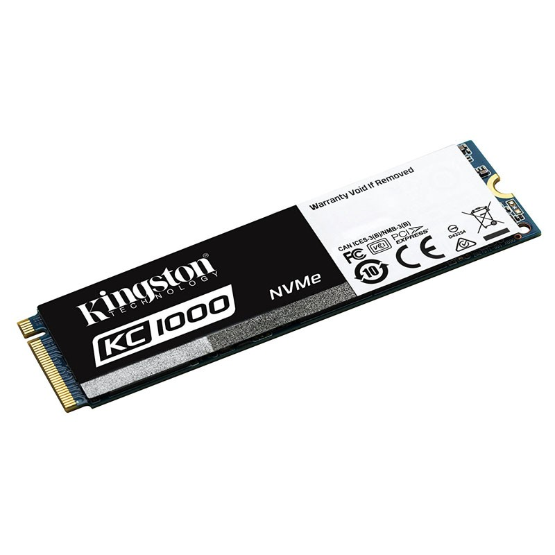 Disco Duro SSD M.2 2280 960GB Kingston KC1000