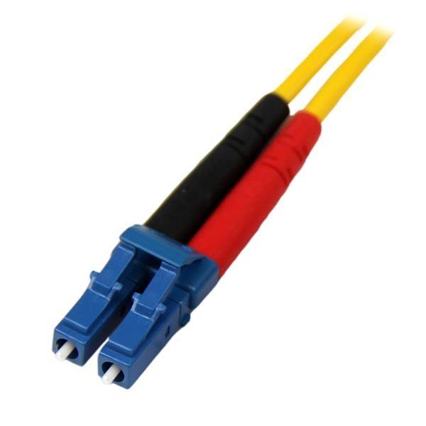Cable Patch de Fibra Duplex SM OS1 Modo Único LC-LC 1 Metro