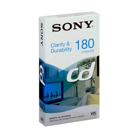 Cinta VHS SONY E180CD