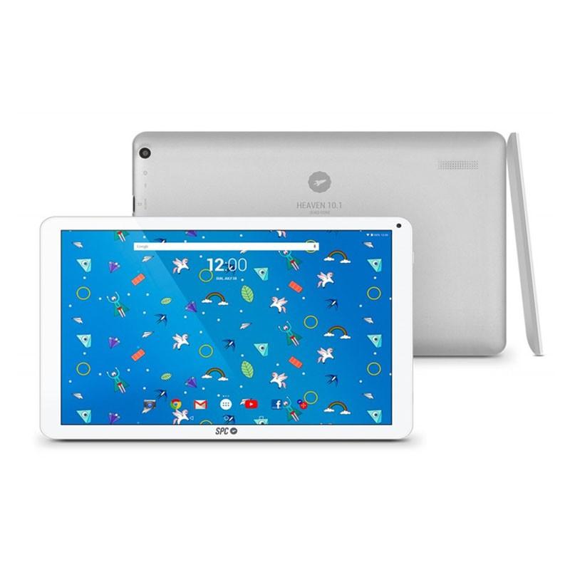 Tablet 10.1` spc heaven 2gb 16gb blanco / plata