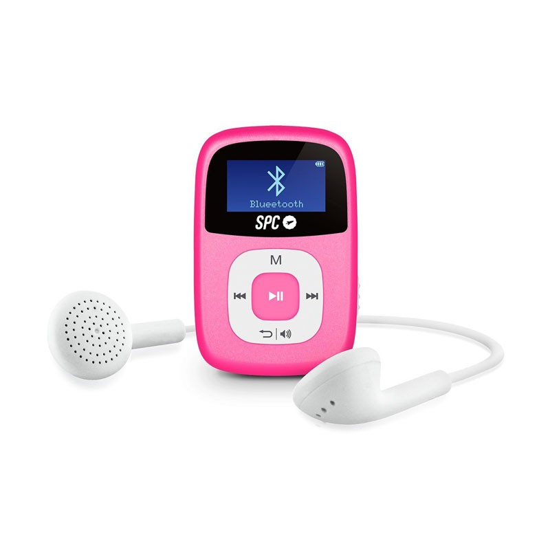Reproductor MP3 con Bluetooth SPC Firefly 8GB Rosa