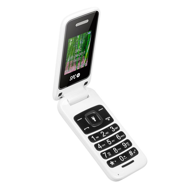 Teléfono Móvil SPC Flip Dual SIM Blanco