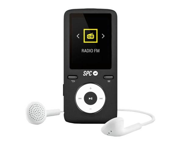 Reproductor MP4 SPC Pure Sound Colour 2 8GB Negro