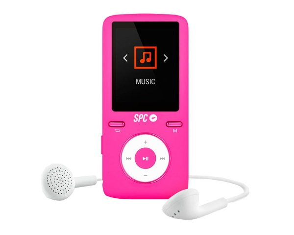 Reproductor MP4 SPC Pure Sound Colour 2 8GB Rosa