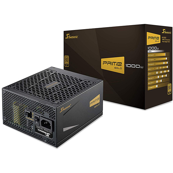 Fuente Alimentacion Modular Seasonic Prime Ultra 1000W 80 PLUS Gold