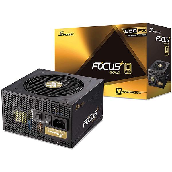 Fuente Alimentacion Modular Seasonic Focus Plus 550W 80 PLUS Gold