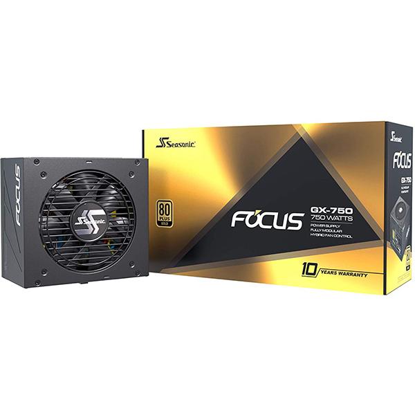 Fuente Alimentacion Modular Seasonic Focus Plus 750W 80 PLUS Gold