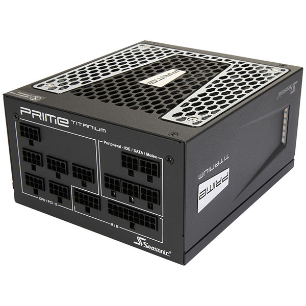 Fuente Alimentacion Modular Seasonic Prime Ultra 750W 80 PLUS Titanium
