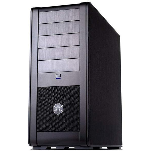 Caja PC ATX Silverstone FT01B-W Negra con Ventana