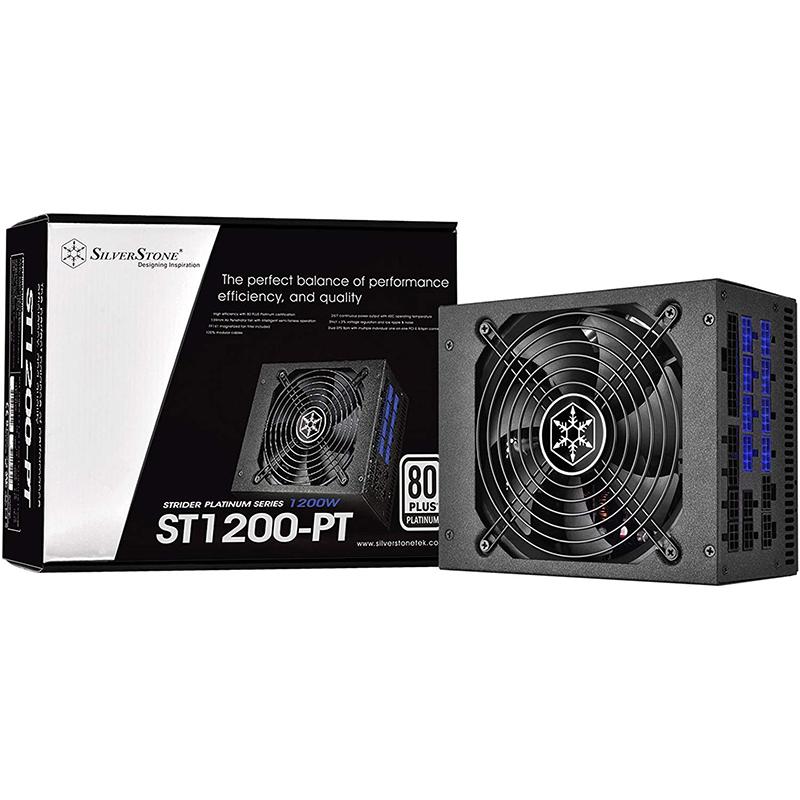 Fuente Alimentacion Modular SilverStone ST1200-PT 1200W 80 PLUS Platinum