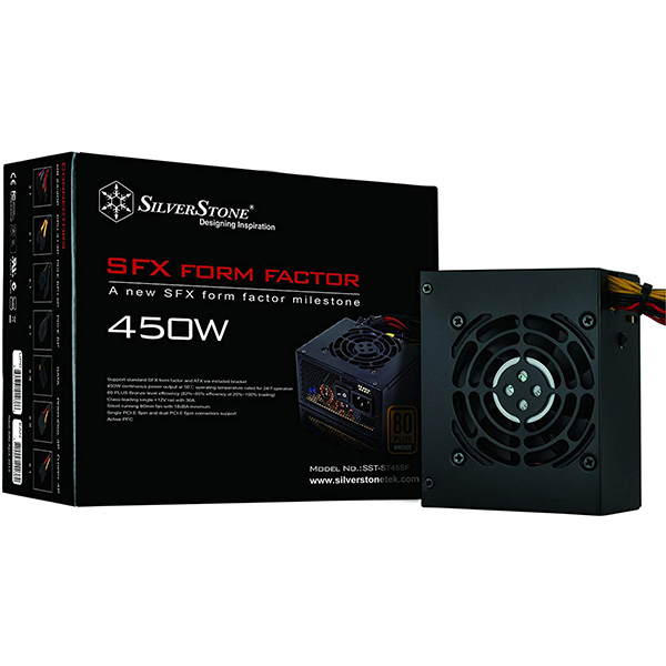 Fuente Alimentacion Modular SilverStone ST45SF SFX 450W 80 PLUS Bronze