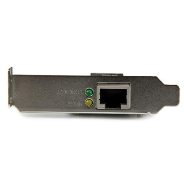 Tarjeta de red Gigabit PCIe de 1 puerto - bajo perfil