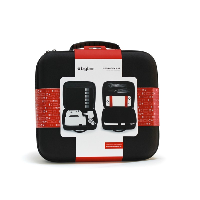Nintendo Switch Maletín BIGBEN Storage Case Negro
