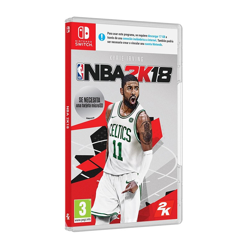 Nintendo Switch Juego NBA 2K18