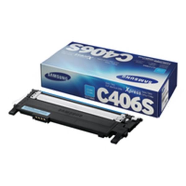 Samsung CLT-C406S Toner original Cian
