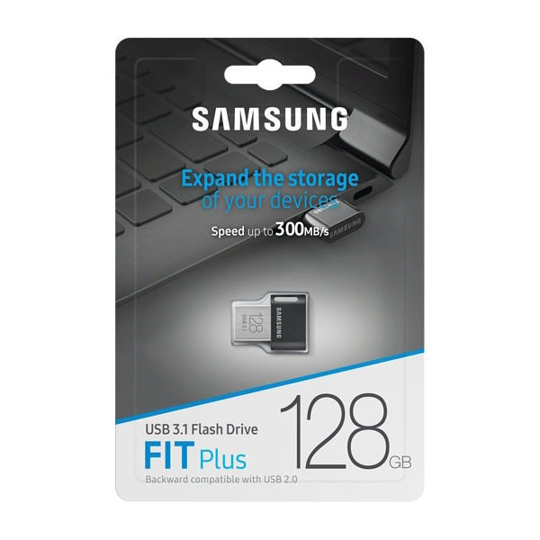 Pendrive 128GB Samsung FIT Plus Titan Gray USB 3.1