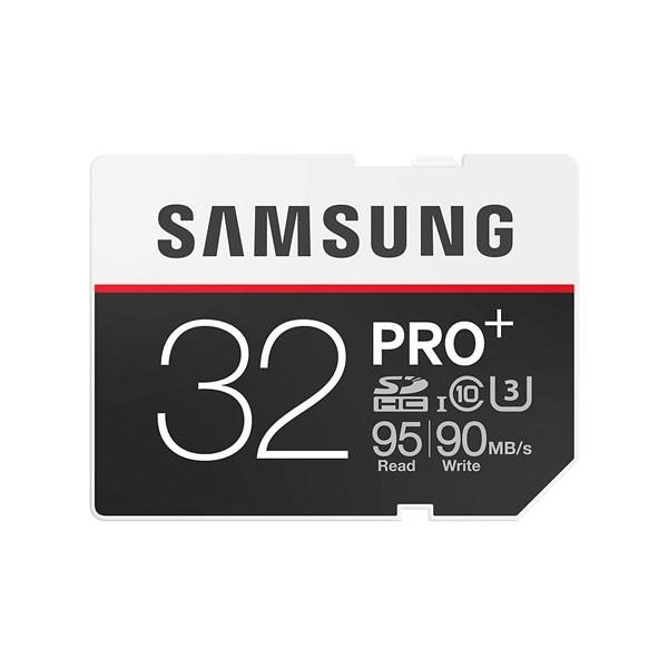 Tarjeta SDHC 32GB Clase 10 UHS-I U3 Samsung PRO+