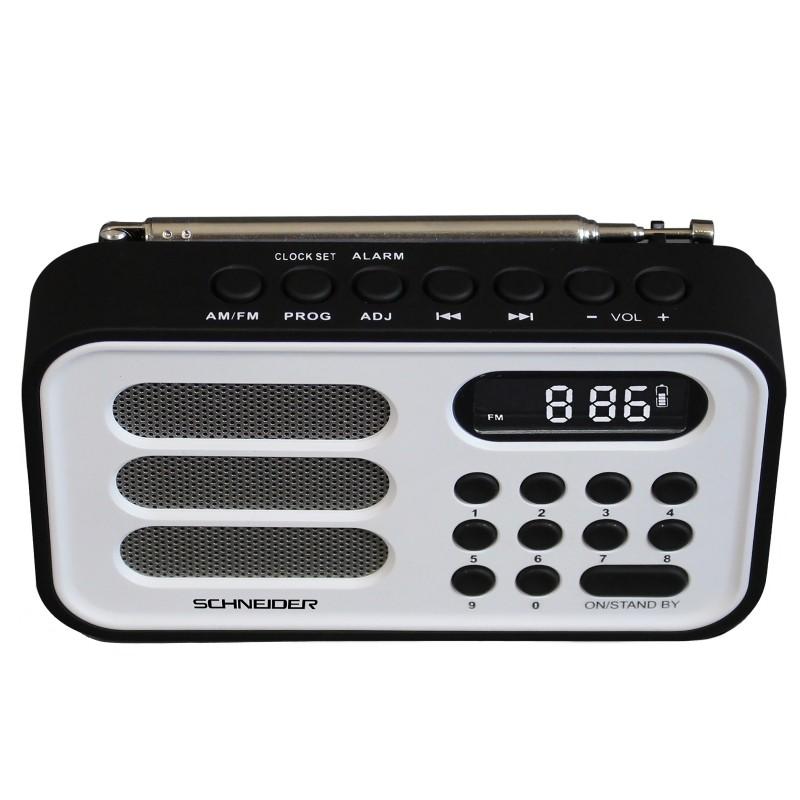 Radio Schneider Handy Mini Blanca