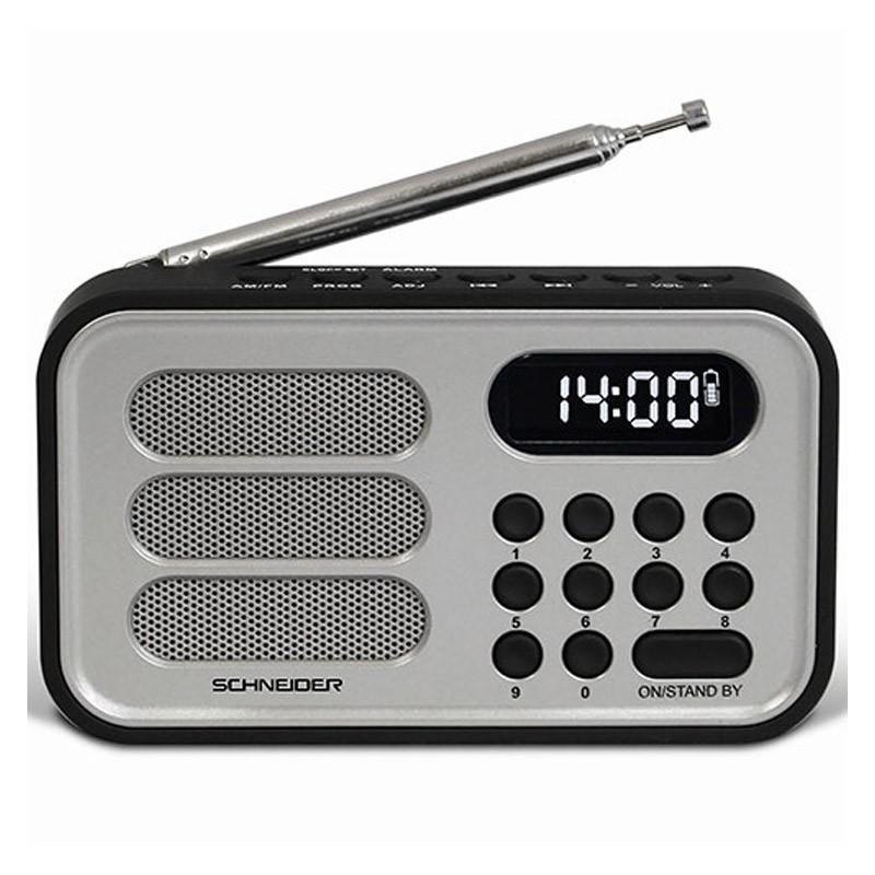 Radio Schneider Handy Mini Plata