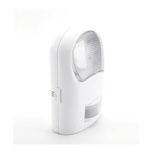 Sensor de movimiento con luz de noche for Luz con detector de movimiento