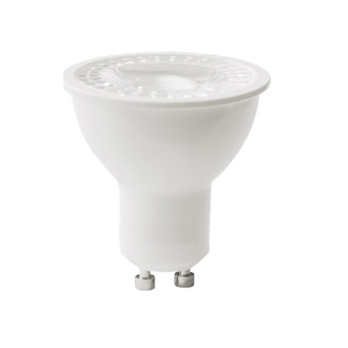 Foco LED Regulable 7W 3000k GU10 COB (556lum) Serie A6 - GU10 Triac Dimmer