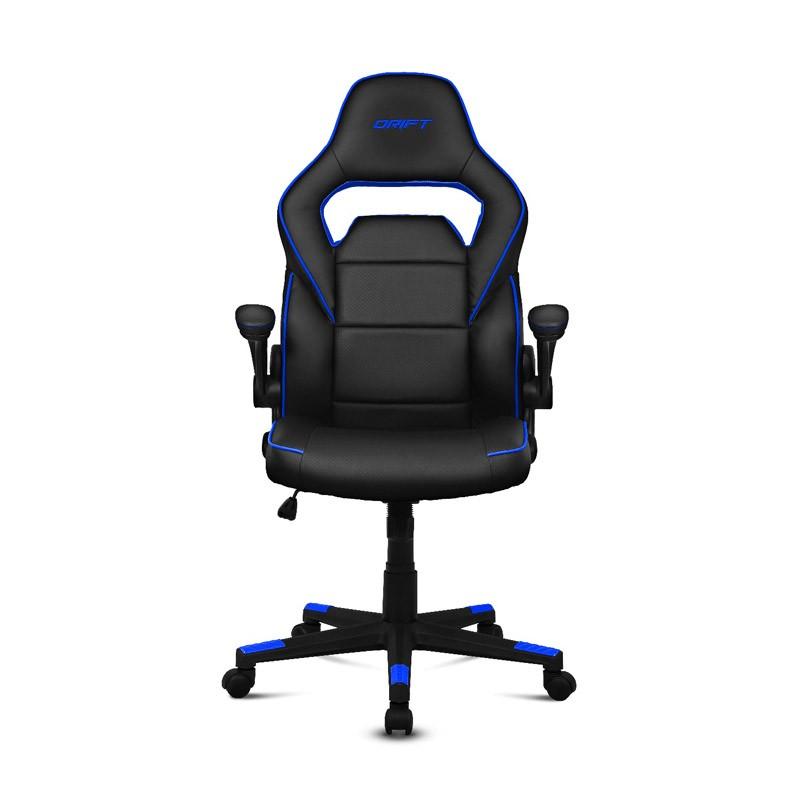 Silla Gaming Drift DR75 Negro / Azul