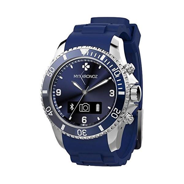 smartwatch anal gico mykronoz zeclock azul