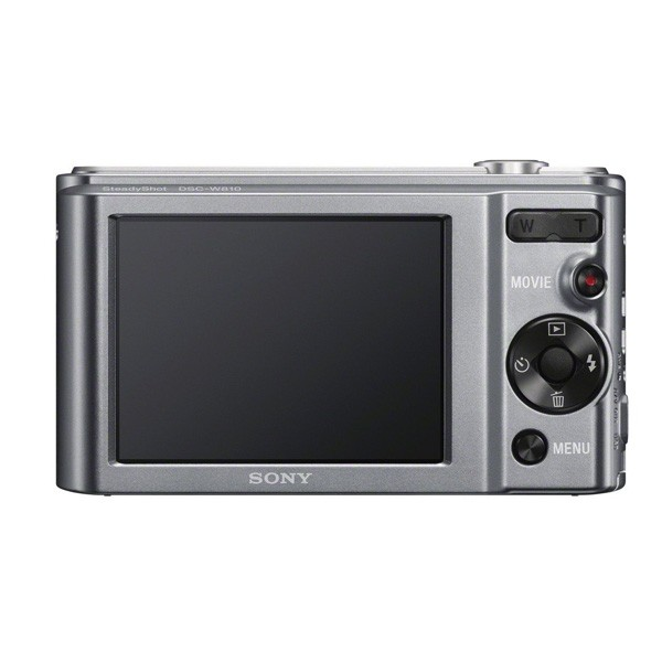 Camara Digital Sony W810 20.1Mpx Plata