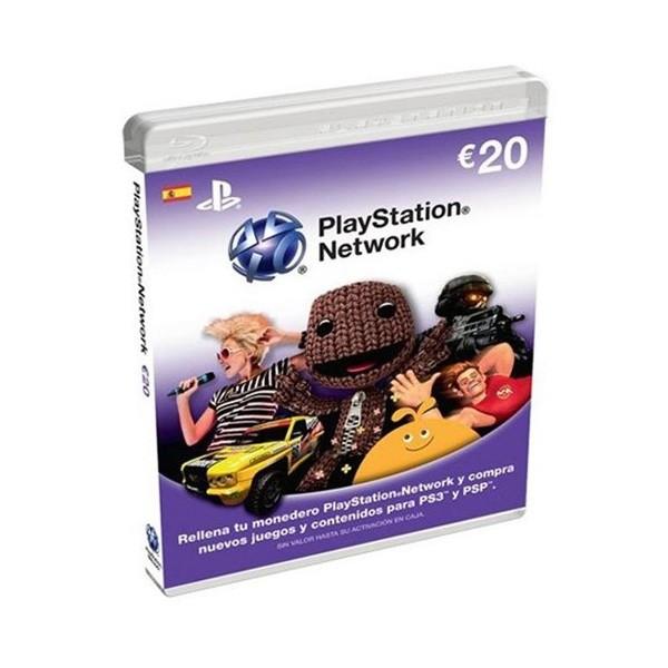 Tarjeta Prepago Sony PSN 20 Euros PS3/PS4/PSP/PSVita