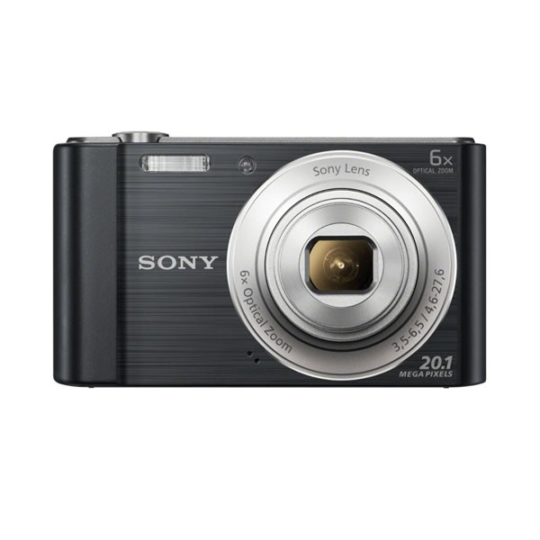 Camara Digital Sony W810 20.1Mpx Negro
