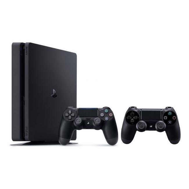 Sony PlayStation 4 Slim 500GB Negro con 2 Mandos
