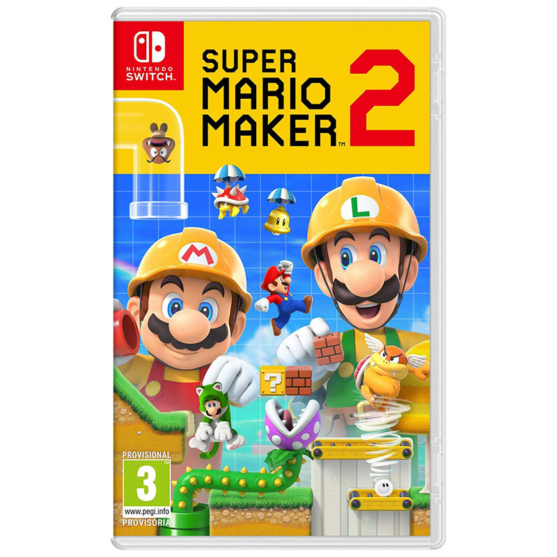 Nintendo Switch Juego Super Mario Maker 2