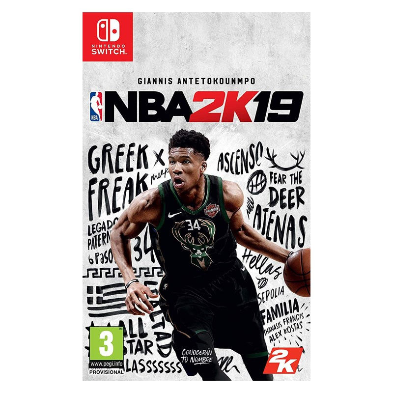 Nintendo Switch Juego NBA 2K19