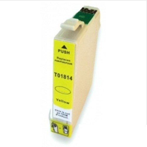 T01814 Cartucho de Tinta Compatible Premium (Amarillo)