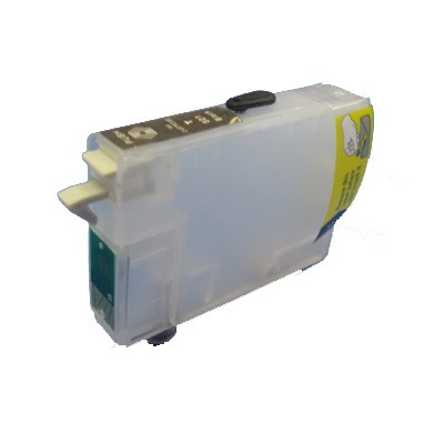 T0714 Cartucho de Tinta Compatible Vacio Autoresetable Amarillo Chip 6.0