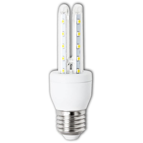 Bombilla LED Bajo Consumo 6W 6400K E27 (480lum) Serie T32U