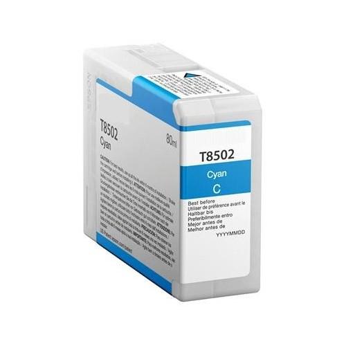 T8502 (PG) Cartucho de Tinta Compatible Premium (Cian)