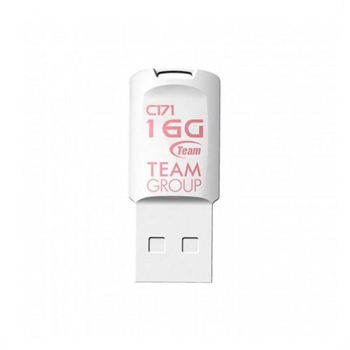 Pendrive 16GB TeamGroup C171 Blanco